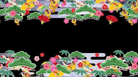 Japanese Pattern Engimono K 1b 4k Animation