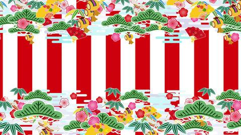 Japanese Pattern Engimono K 1rw 4k Animation