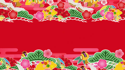 Japanese Pattern Engimono Ks 1r 4k Animation