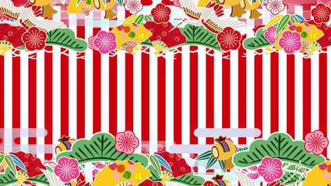 Japanese Pattern Engimono Ks 1rw 4k stock footage