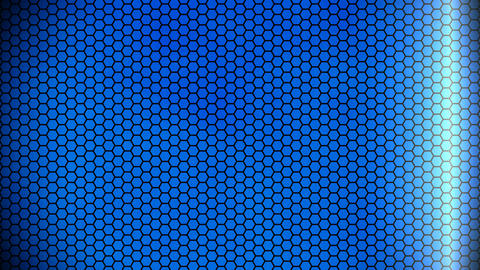 blue hexagonal background Animation