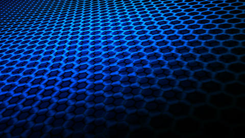 hexagonal grid space Animation