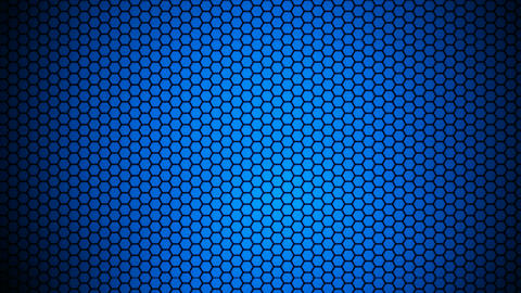 hexagonal array background Animation