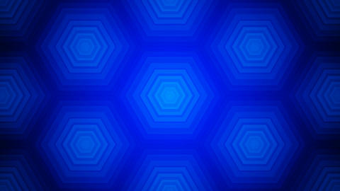 blue tile hexagons Animation