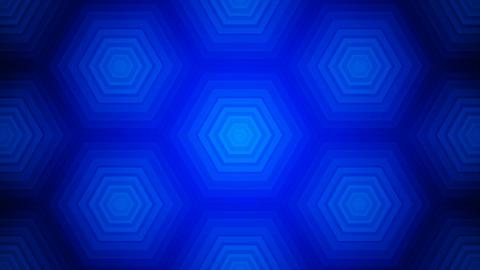 blue tile hexagons Animation