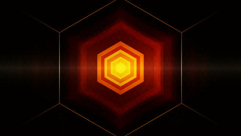 lights spot hexagonal Animation