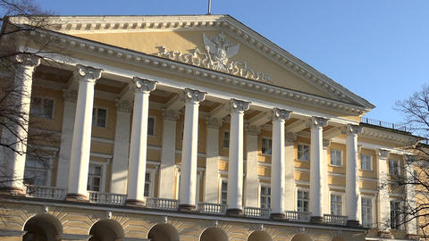 The Government of St. Petersburg. Smolny Footage