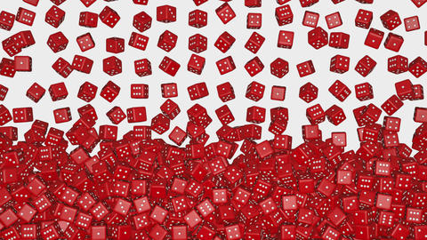Reds dice fall Animation