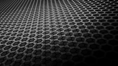 hexagonal space floor Animation