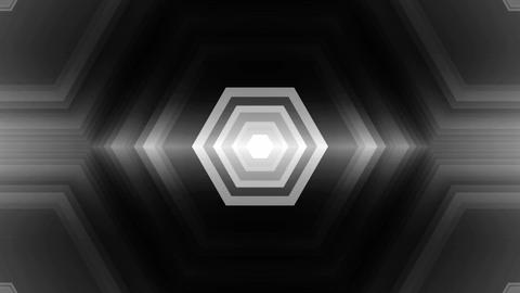 Hexa Center Lights stock footage