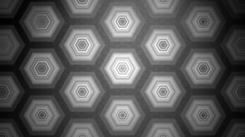 tile hexagonal monochrome Animation