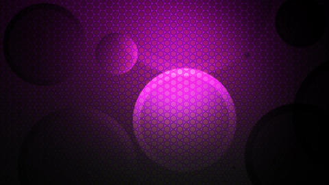 Purple Lights Circle stock footage