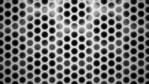 gray dot cage Animation