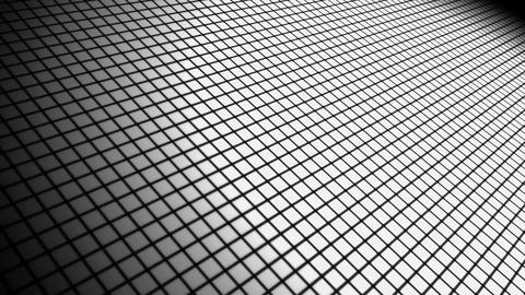 White Grid Space stock footage