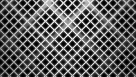 white rhombus wire Animation