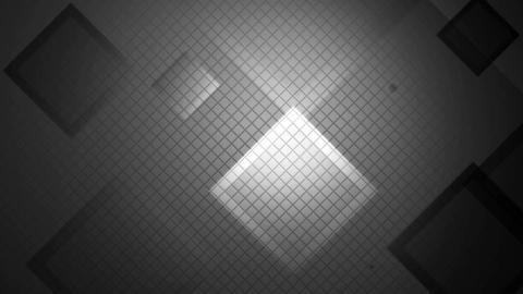 white lights rhombus Animation