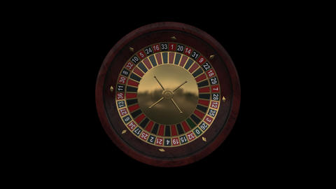 Casino Roulette Wheel Animation