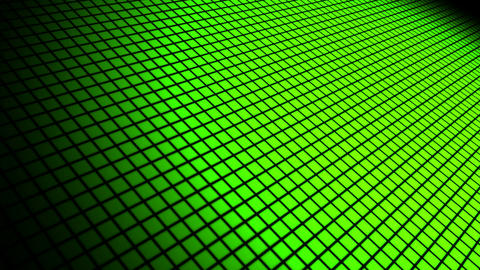 green grid space Animation