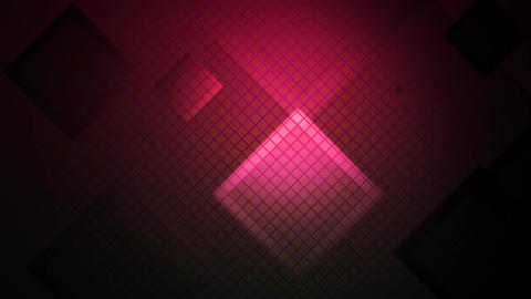 pink lights rhombus Animation