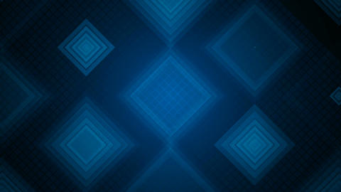 blue grid overlay Animation
