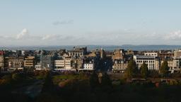 4K Cityscape of Edinburgh, Scotland Live Action