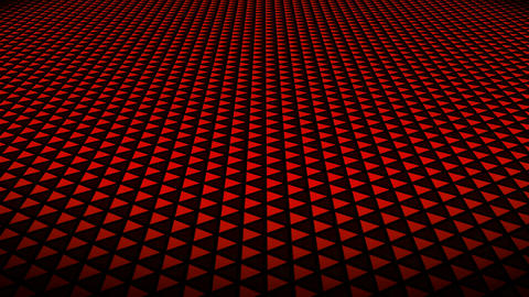 red triangle floor Animation