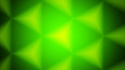 Green Tile Triangle stock footage