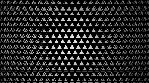 white triangular lights Animation
