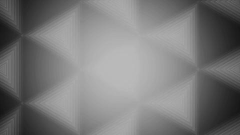 gray tile triangle Animation