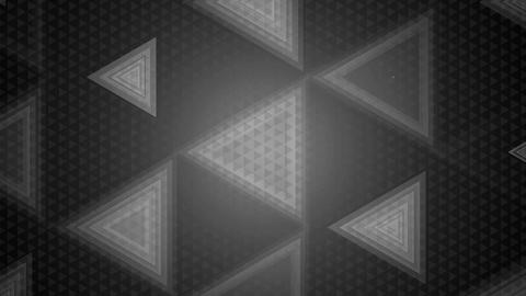 monochrome triangle overlay Animation