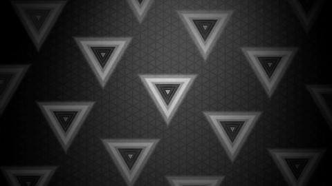 grey triangle pattern Animation