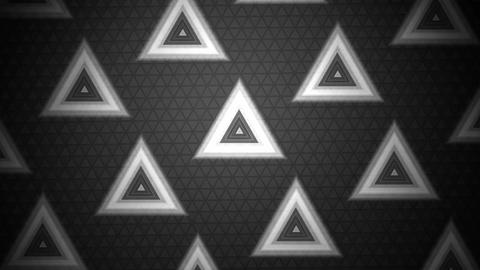 Contrast Triangle Grayscale stock footage