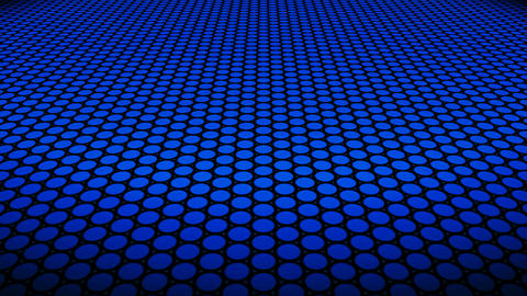 blue dot floor Animation