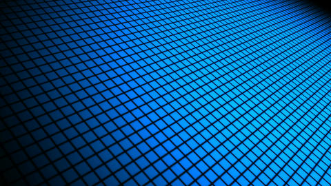 Blue Grid Space stock footage
