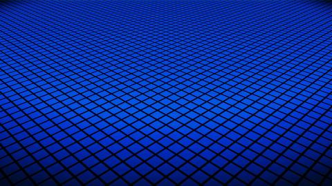 blue rhombus floor Animation