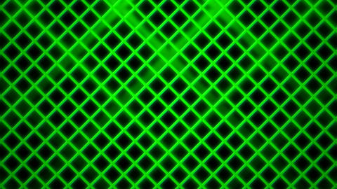 green rhombus cage Animation
