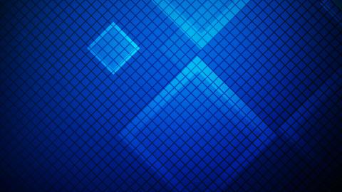 glowing blue rhombus Animation