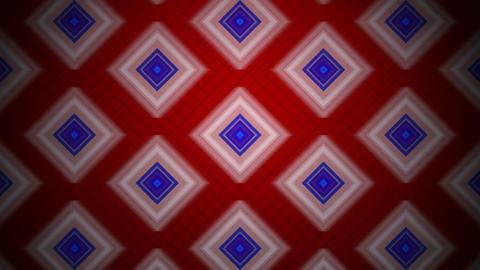 retro rhombus background Animation