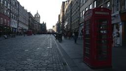 4K Royal Mile in Edinburgh, Scotland Live Action