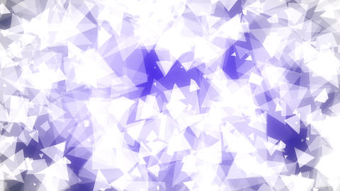 Light Blue Triangles Background Loop 1 Animation