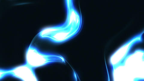 Blue Liquid Energy Background Loop 1 Close Animation