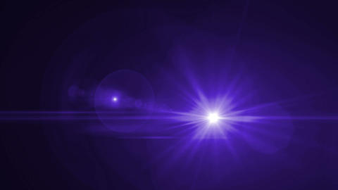 Lens Flares Blue slope blue tone Animation