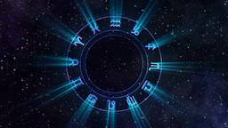 Zodiac wheel Animation