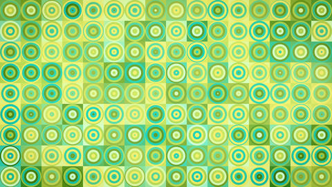 circles and squares geometric loopable background Animation