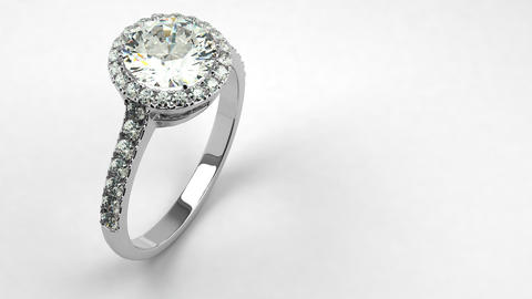 Precious Diamond Ring Animation