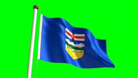 Alberta flag Animation