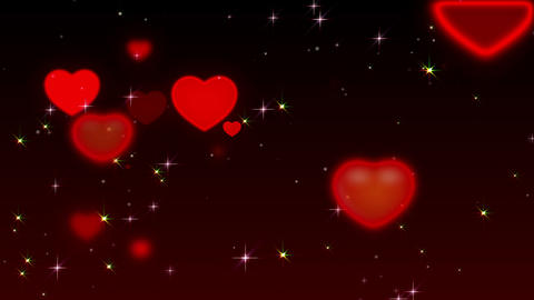 Romantic background Animation
