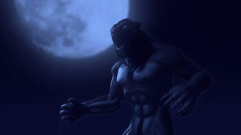 Werewolf Transformation Animation