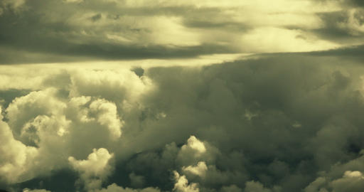 4k time lapse of puffy cloud mass flying in sky,heaven,Tibet plateau climate Footage