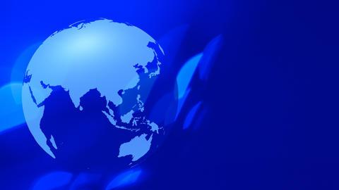 Planet earth rotates futuristic background Footage